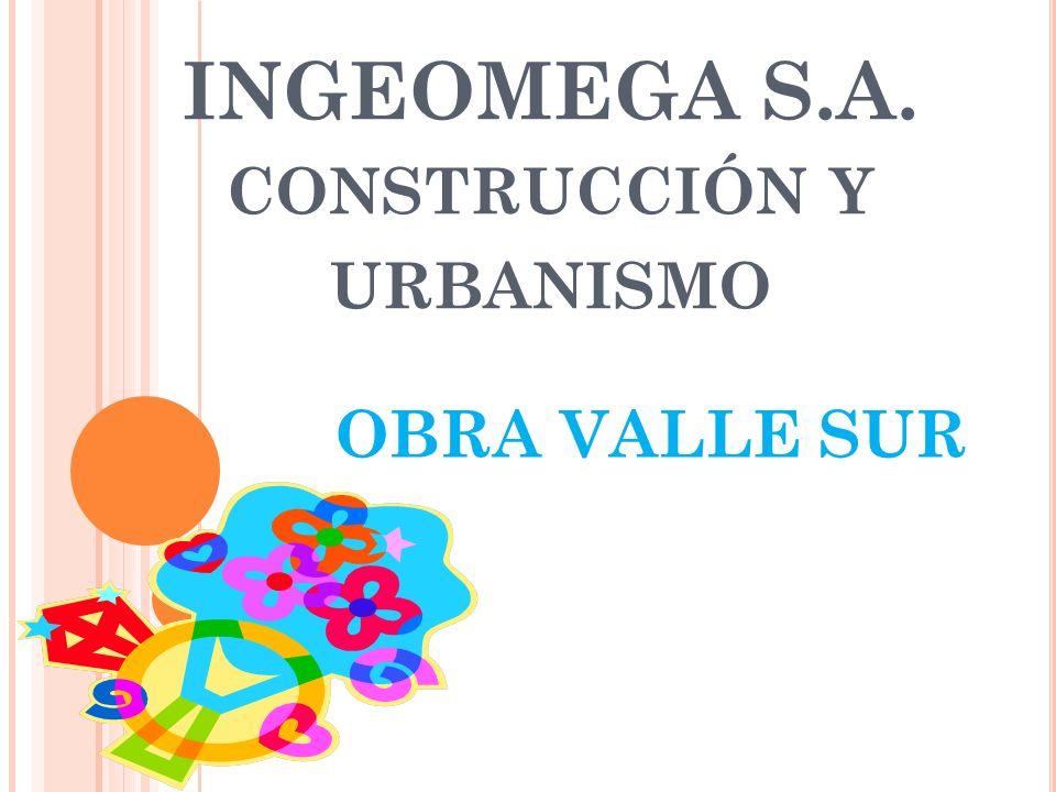 INGEOMEGA S.A. construcción y urbanismo