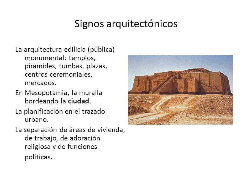 Signos arquitectónicos
