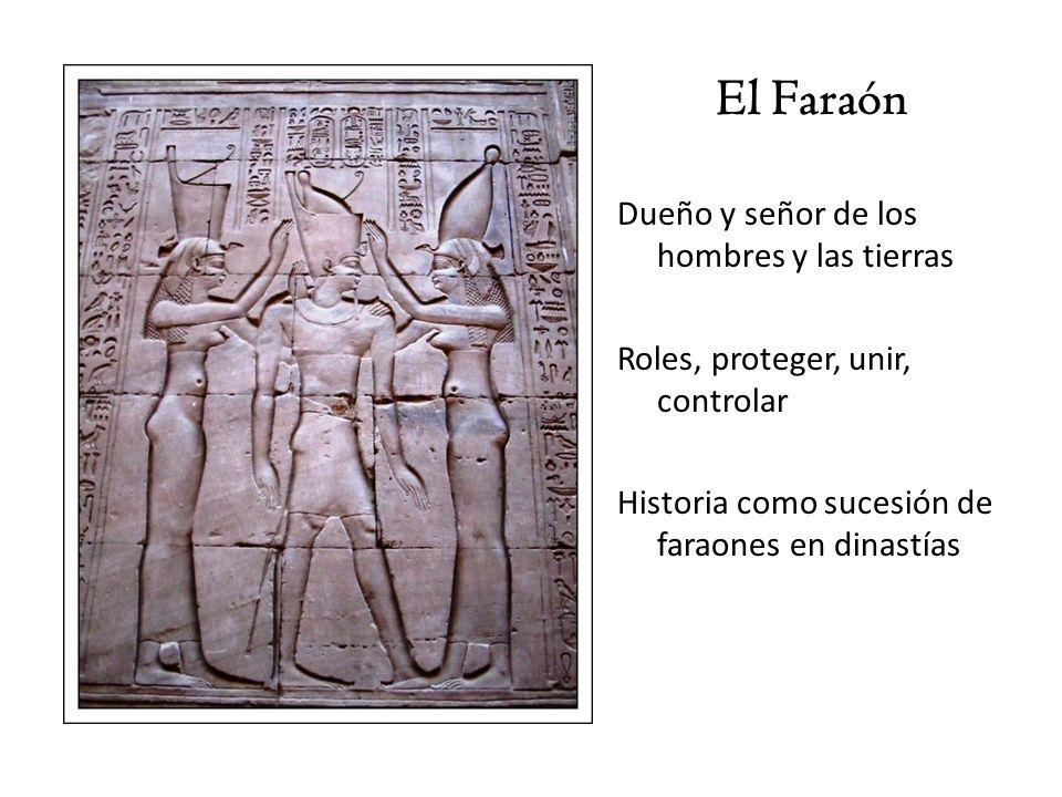 El Faraón Dueño y señor de los hombres y las tierras