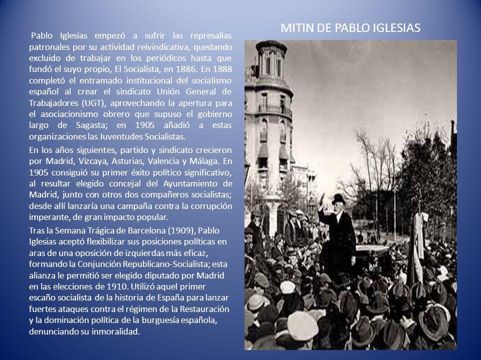 MITIN DE PABLO IGLESIAS
