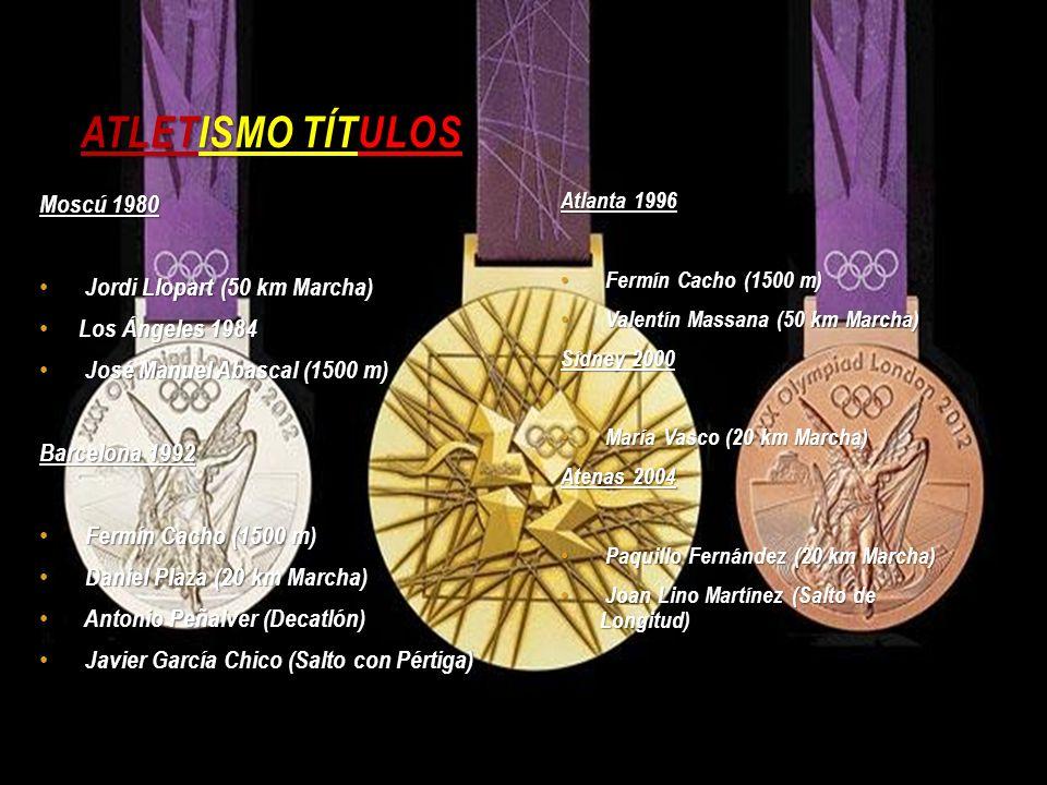 Atletismo Títulos Moscú 1980 Jordi Llopart (50 km Marcha)