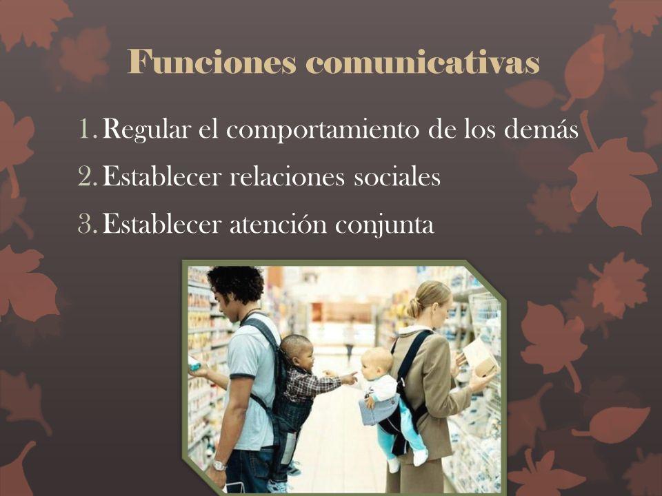 Funciones comunicativas