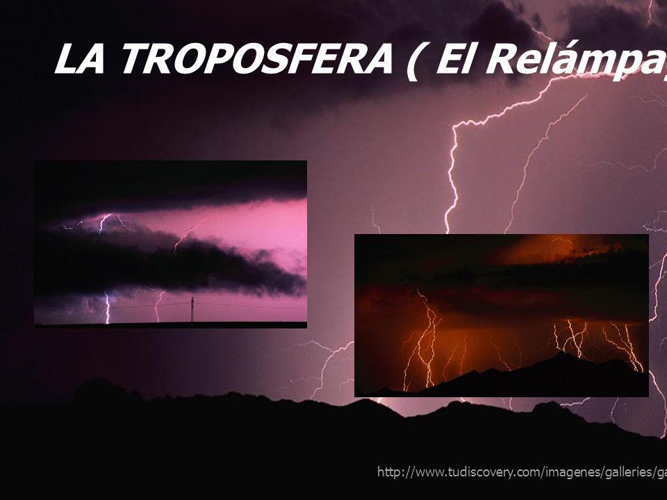 LA TROPOSFERA ( El Relámpago)