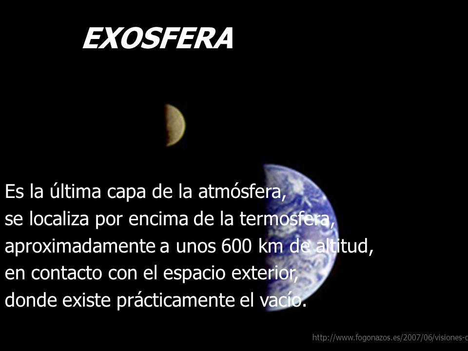 LA EXOSFERA