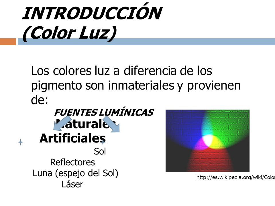 INTRODUCCIÓN (Color Luz)