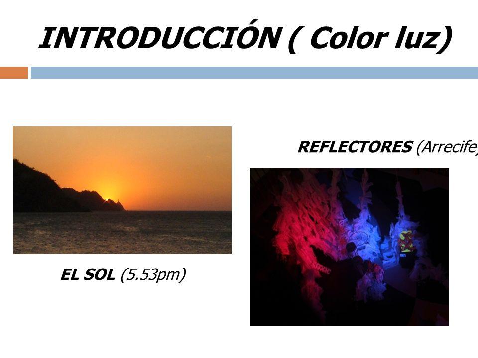 INTRODUCCIÓN ( Color luz)