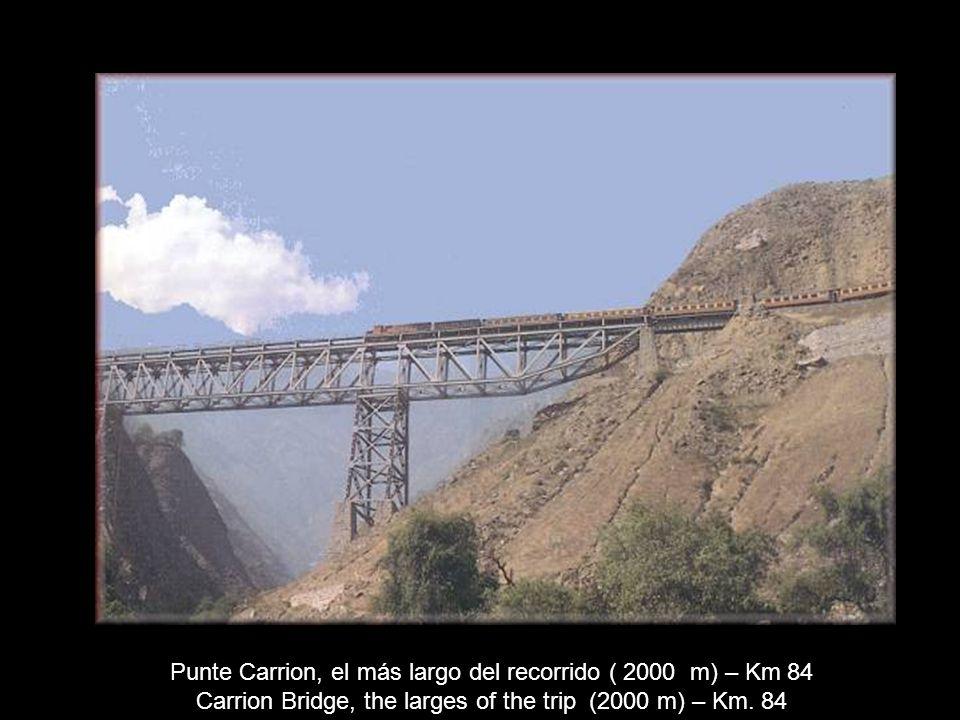 Punte Carrion, el más largo del recorrido ( 2000 m) – Km 84