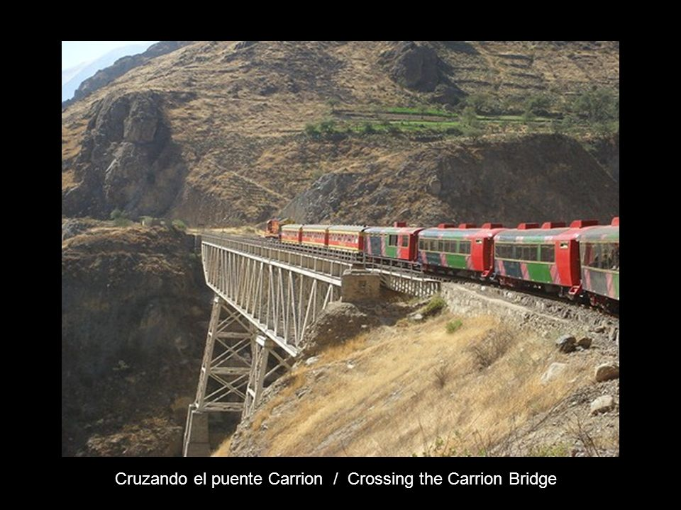 Cruzando el puente Carrion / Crossing the Carrion Bridge