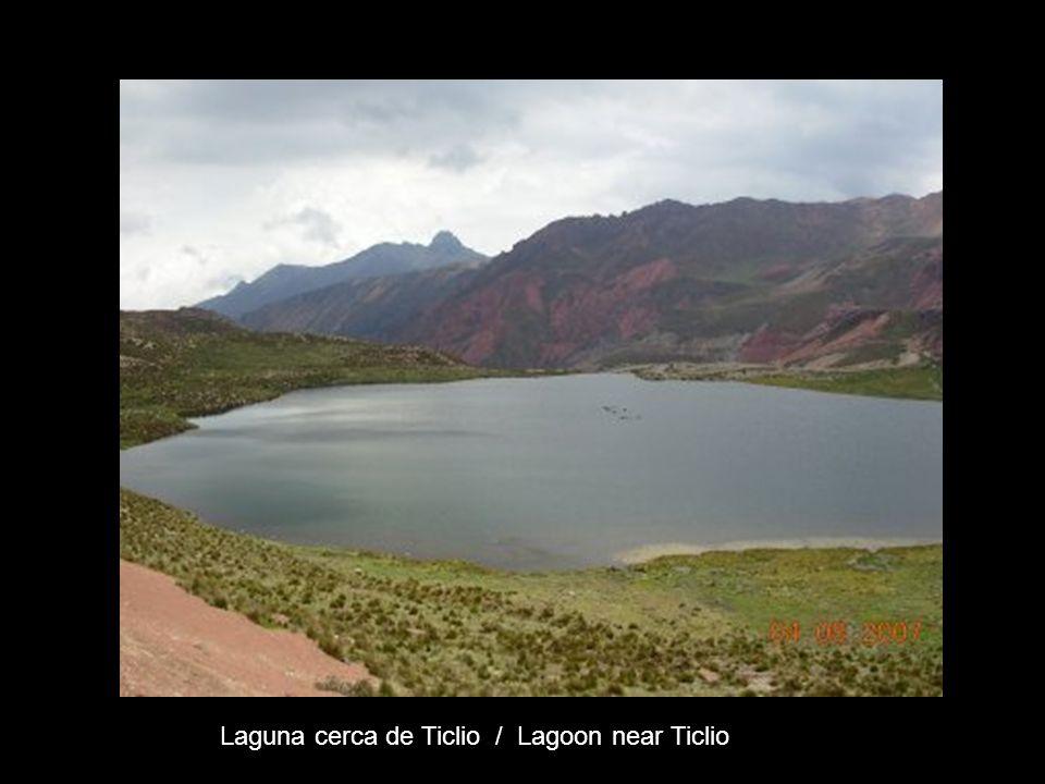 Laguna cerca de Ticlio / Lagoon near Ticlio