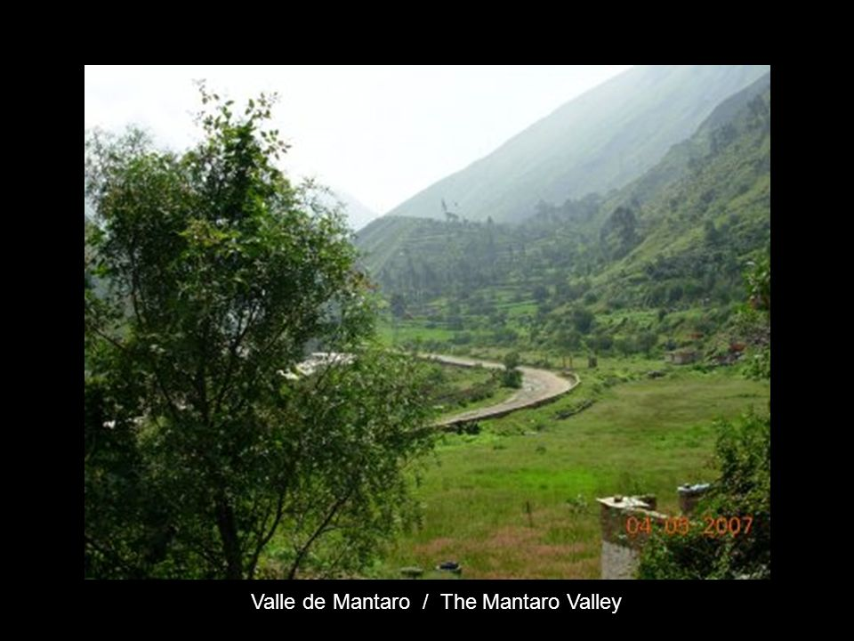 Valle de Mantaro / The Mantaro Valley