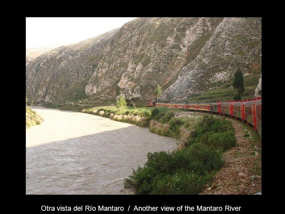 Otra vista del Río Mantaro / Another view of the Mantaro River