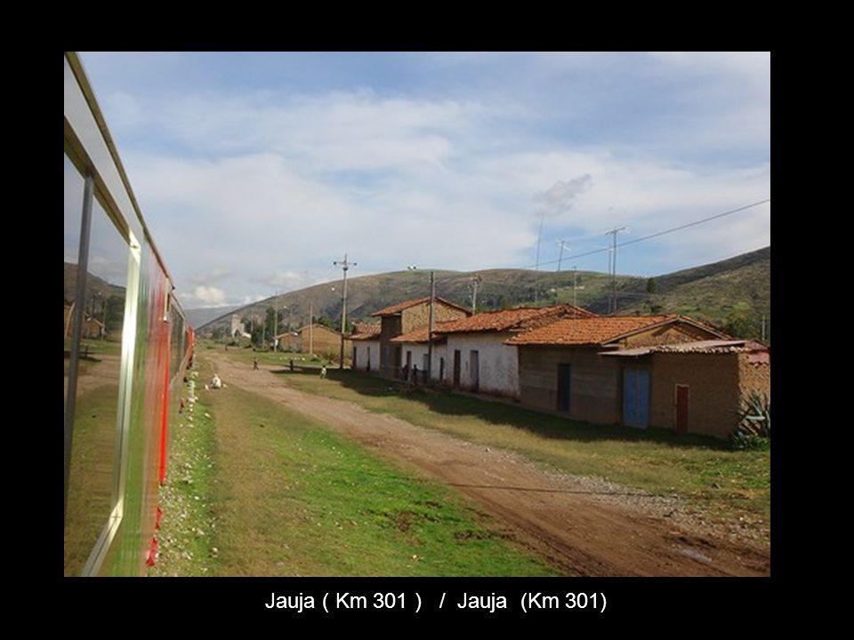 Jauja ( Km 301 ) / Jauja (Km 301)