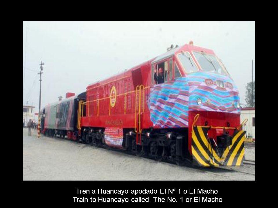 Tren a Huancayo apodado El Nº 1 o El Macho