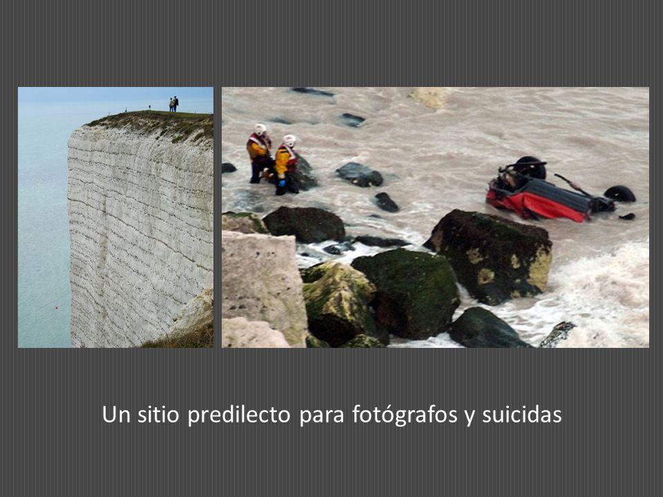 Un sitio predilecto para fotógrafos y suicidas