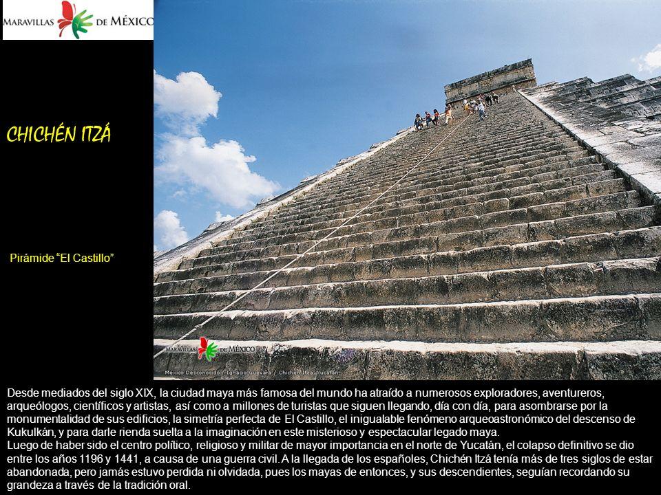 CHICHÉN ITZÁ Pirámide El Castillo