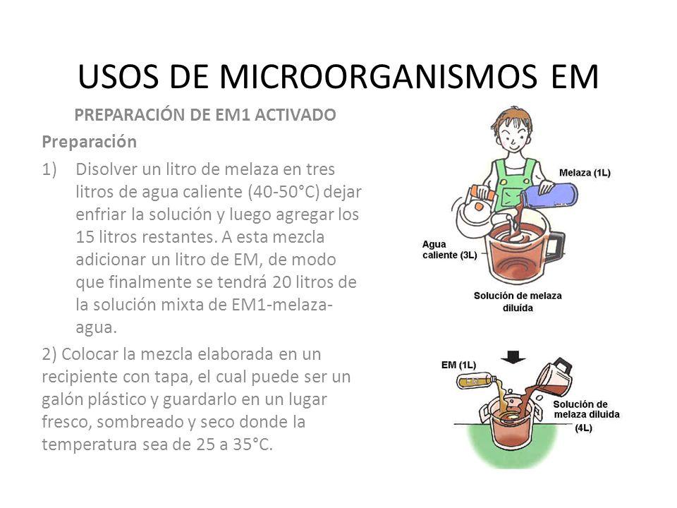 USOS DE MICROORGANISMOS EM