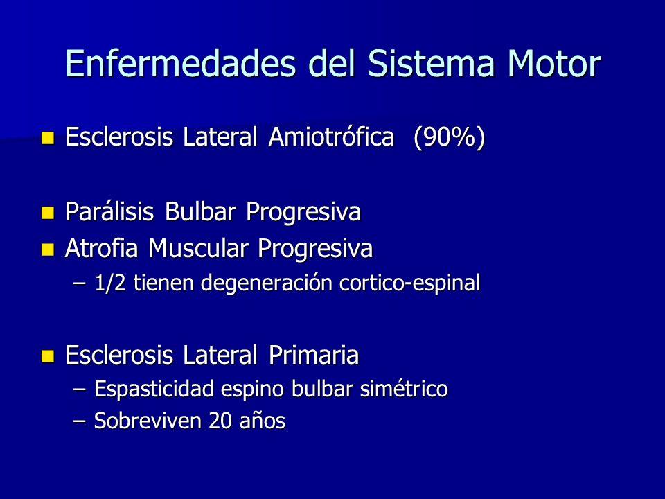 Enfermedades del Sistema Motor