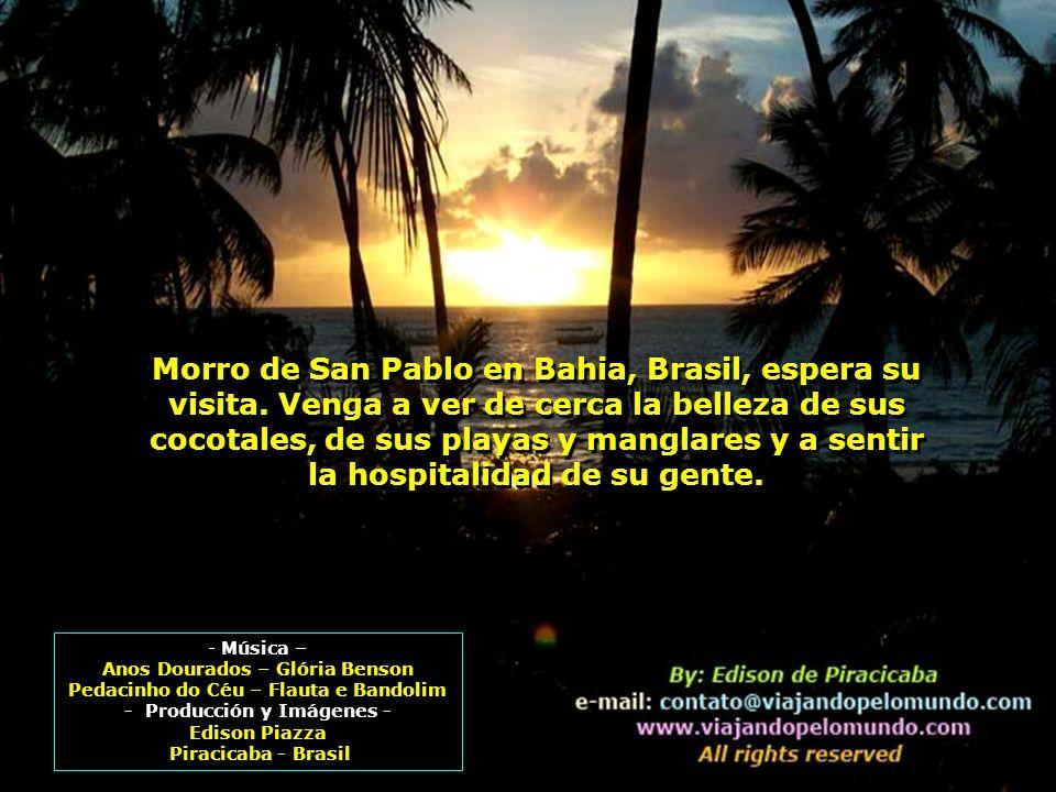 Morro de San Pablo en Bahia, Brasil, espera su visita