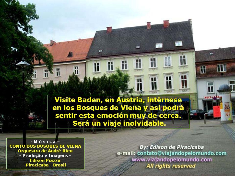 Visite Baden, en Austria, intérnese