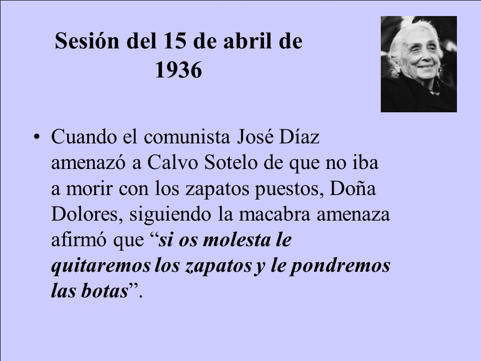 Sesión del 15 de abril de 1936
