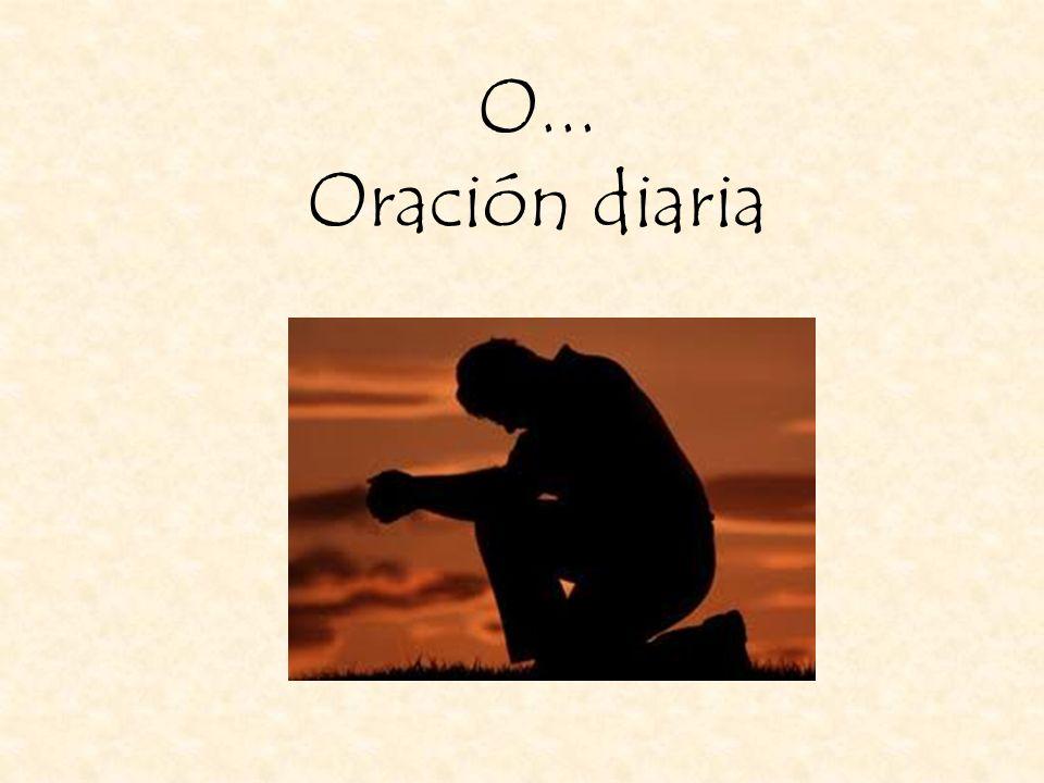 O... Oración diaria