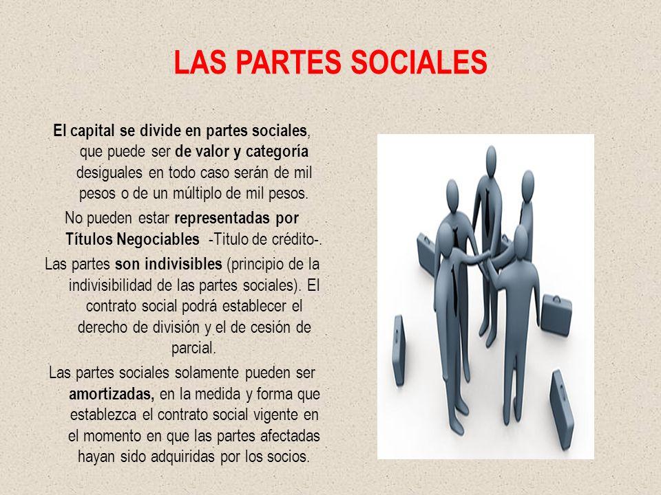 LAS PARTES SOCIALES