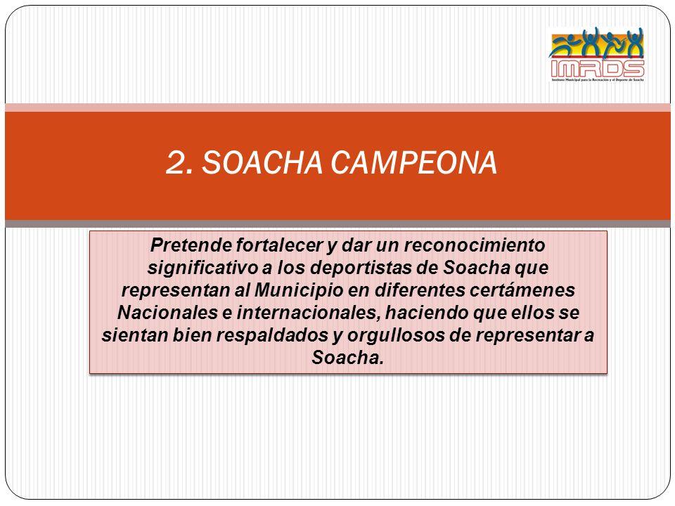 2. SOACHA CAMPEONA