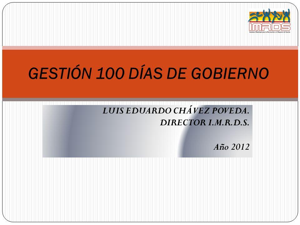 GESTIÓN 100 DÍAS DE GOBIERNO