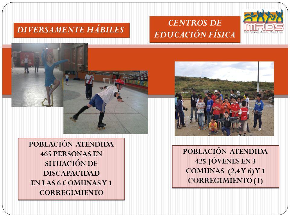 CENTROS DE EDUCACIÓN FÍSICA