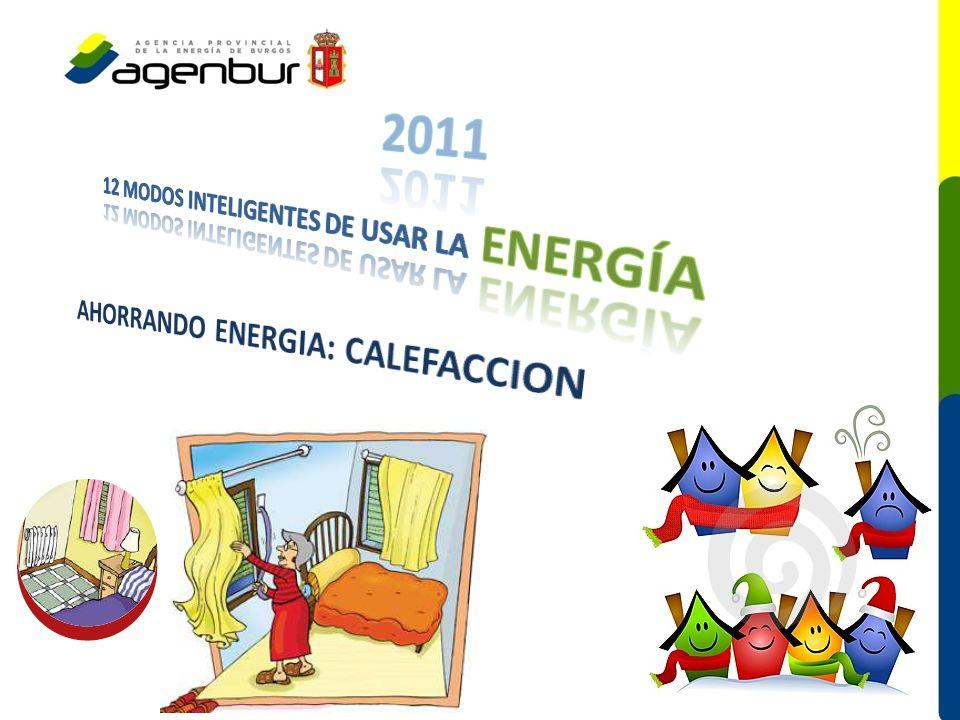 2011 AHORRANDO ENERGIA: CALEFACCION