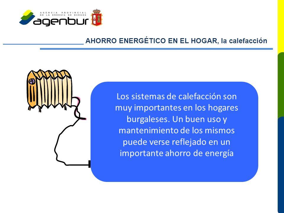 AHORRO ENERGÉTICO EN EL HOGAR, la calefacción
