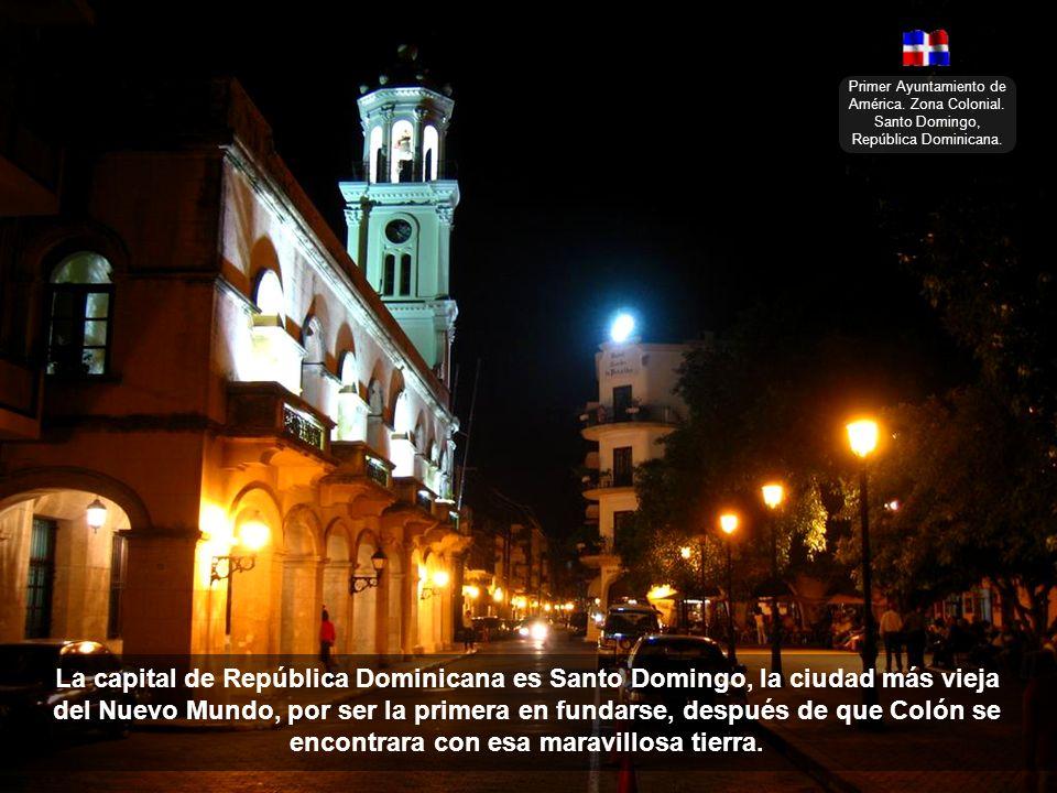 Primer Ayuntamiento de América. Zona Colonial