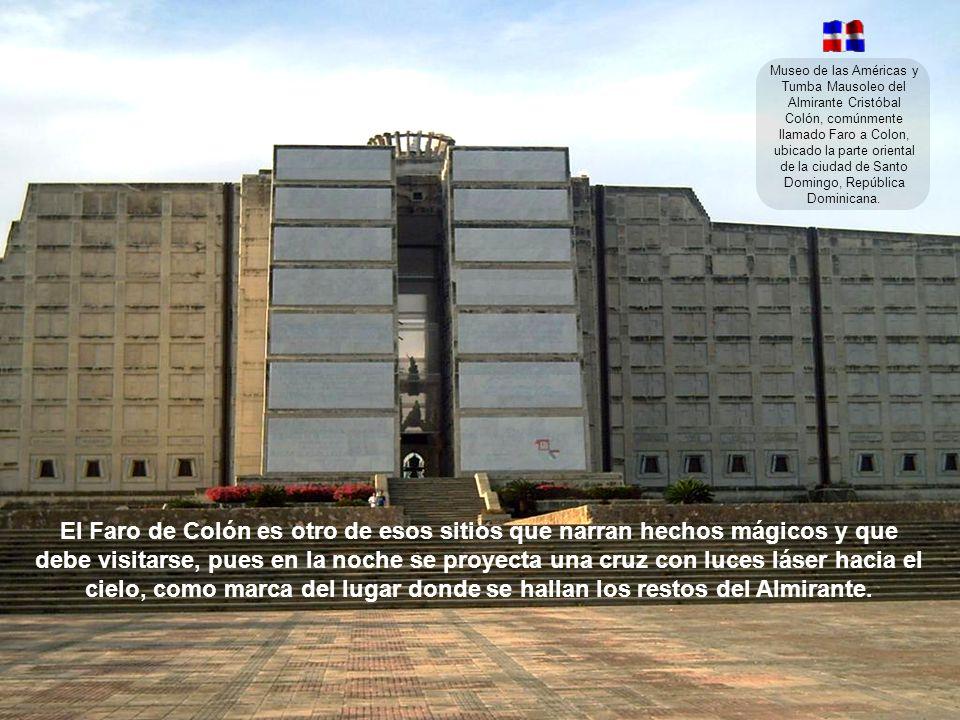 Museo de las Américas y Tumba Mausoleo del Almirante Cristóbal Colón, comúnmente llamado Faro a Colon, ubicado la parte oriental de la ciudad de Santo Domingo, República Dominicana.