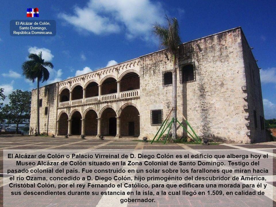 El Alcázar de Colón, Santo Domingo, República Dominicana.