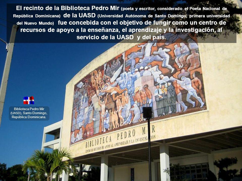 Biblioteca Pedro Mir (UASD), Santo Domingo, República Dominicana.