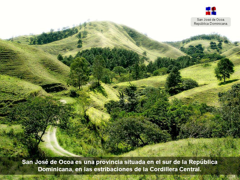 San José de Ocoa. República Dominicana.