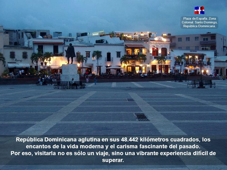 Plaza de España. Zona Colonial. Santo Domingo, República Dominicana.