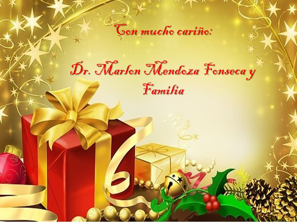 Dr. Marlon Mendoza Fonseca y Familia