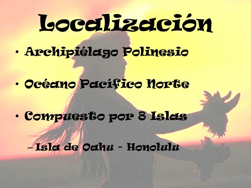 Localización Archipiélago Polinesio Océano Pacífico Norte