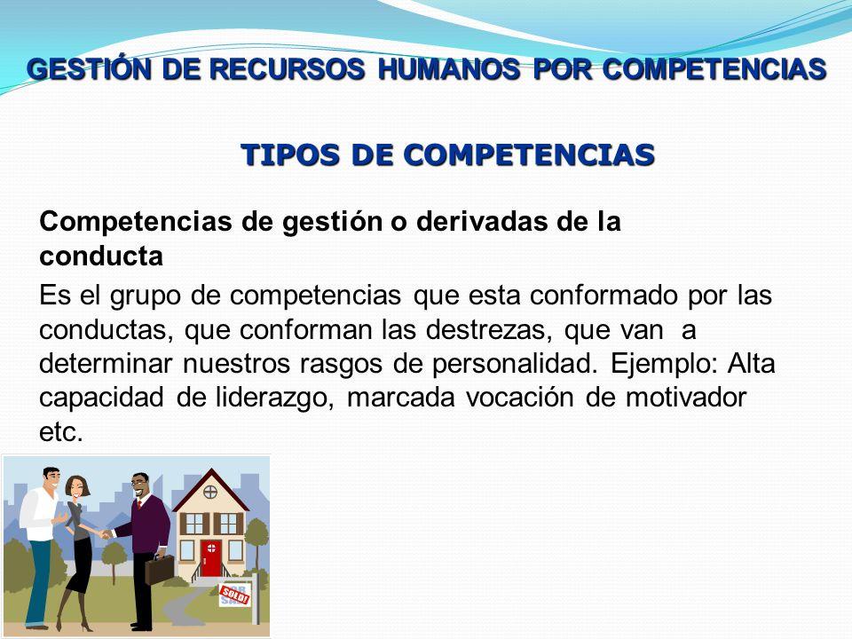 GESTIÓN DE RECURSOS HUMANOS POR COMPETENCIAS