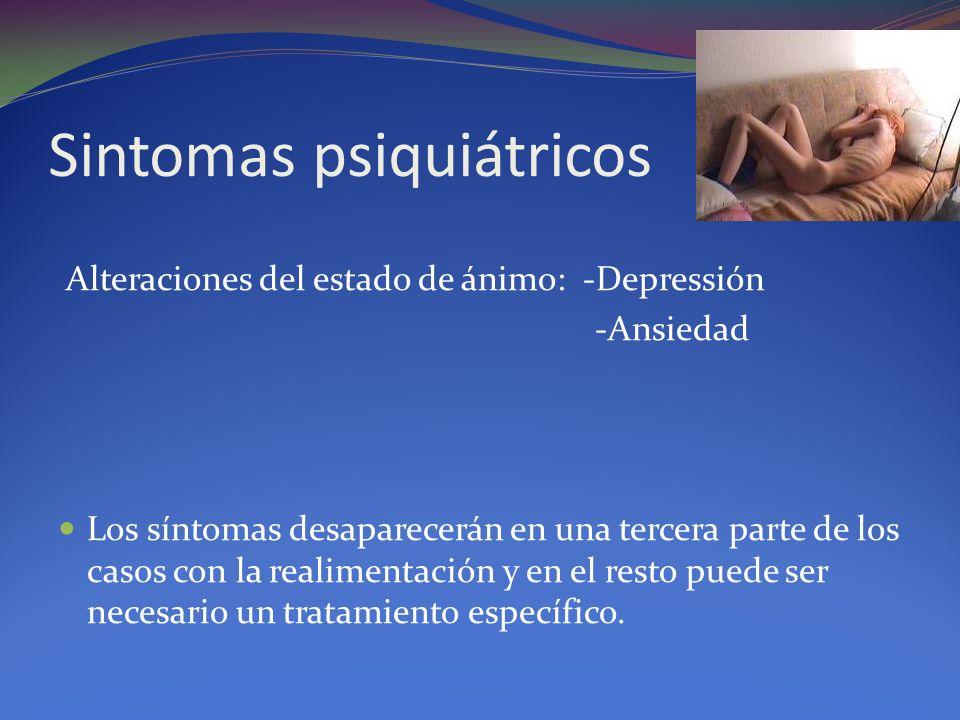 Sintomas psiquiátricos