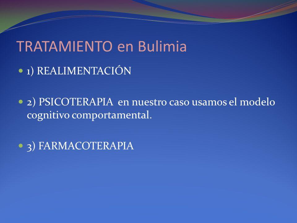 TRATAMIENTO en Bulimia