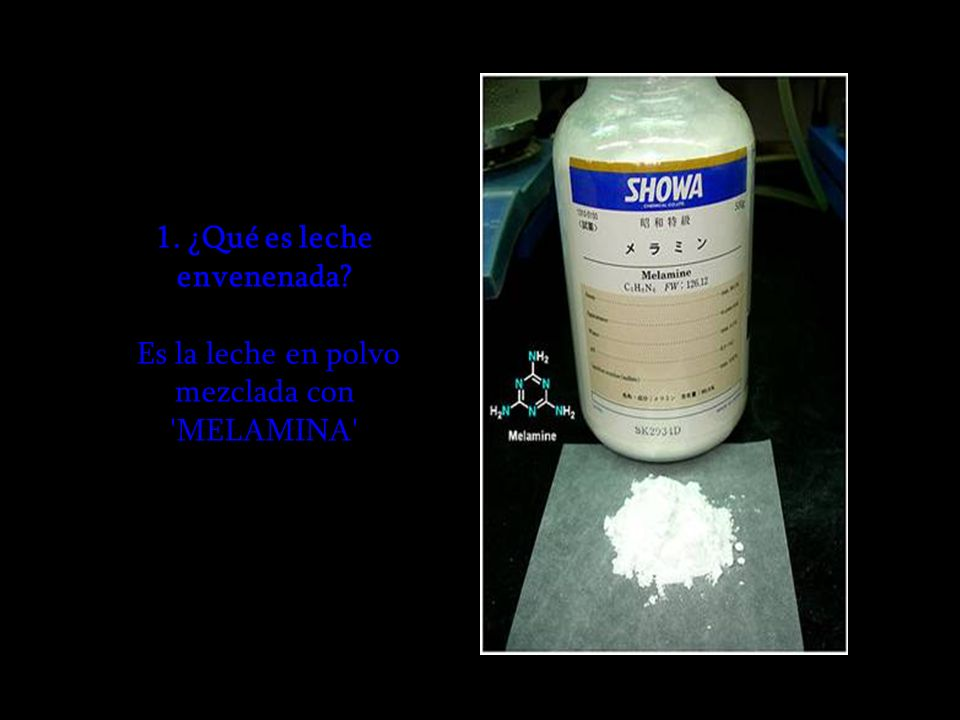 1. ¿Qué es leche envenenada