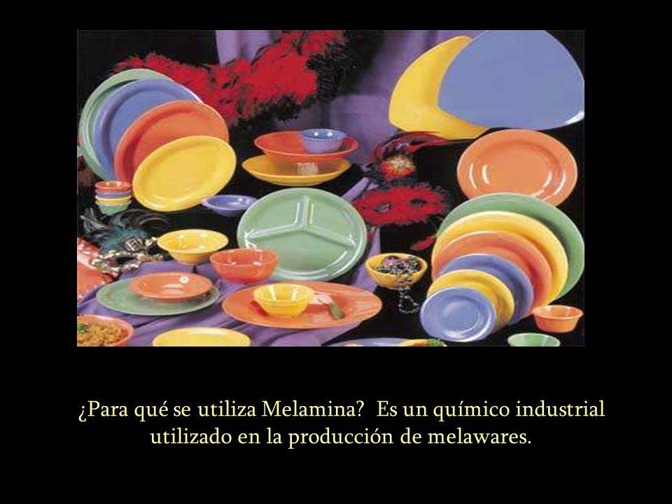 ¿Para qué se utiliza Melamina