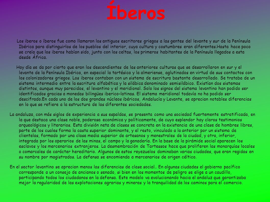 Íberos