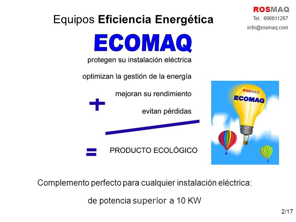 Equipos Eficiencia Energética