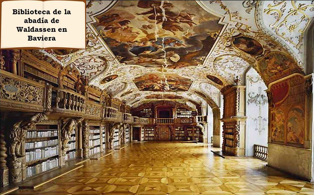 Biblioteca de la abadía de Waldassen en Baviera