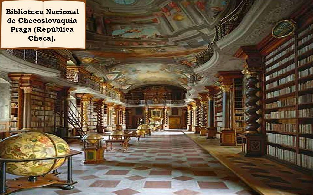 Biblioteca Nacional de Checoslovaquia Praga (República Checa).