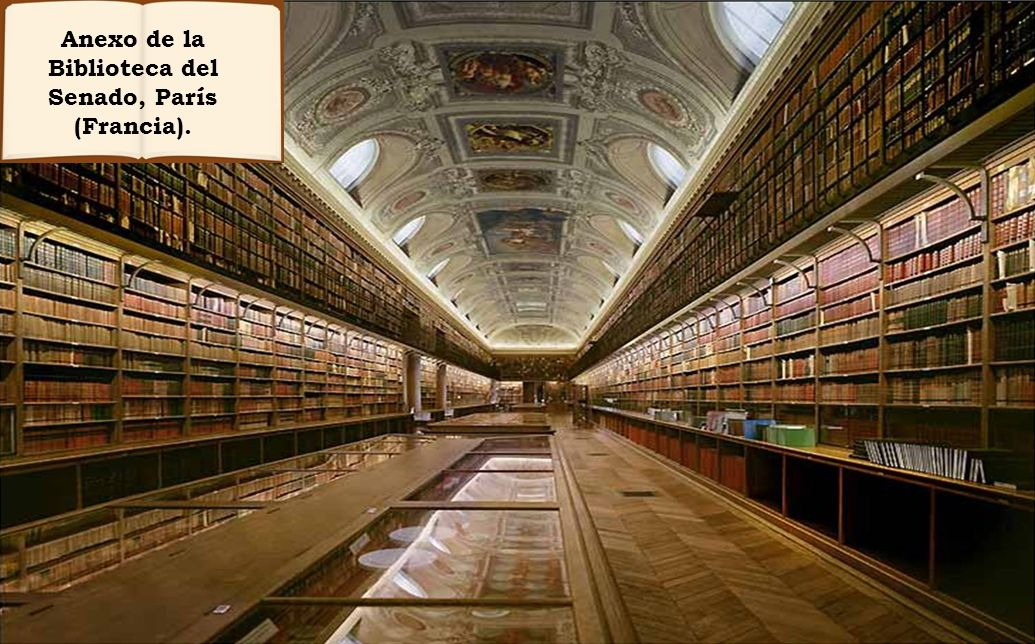 Anexo de la Biblioteca del Senado, París (Francia).