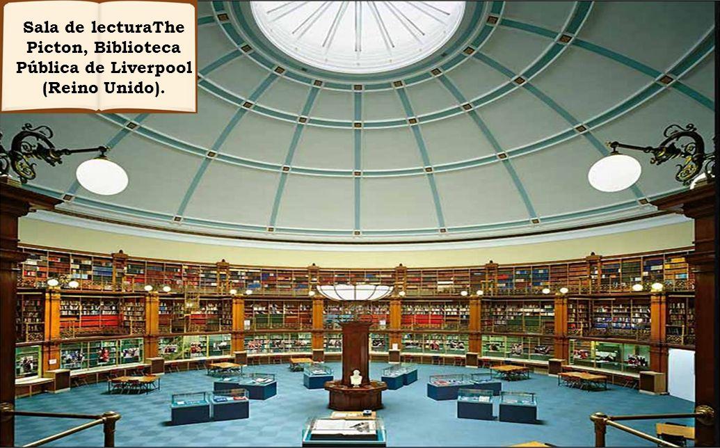 Sala de lecturaThe Picton, Biblioteca Pública de Liverpool (Reino Unido).